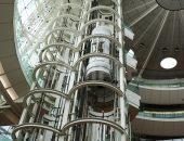 羽田空港のエレベーターの写真