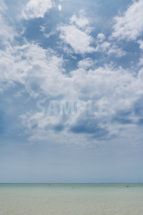 沖縄の海と空と雲