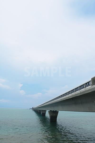 宮古島と池間島を結ぶ池間大橋