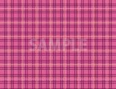 ピンク色のタータンチェック柄のパターン素材から作成したA4サイズ背景素材