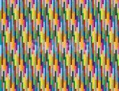 マルチカラーストライプのパターン素材から作成したA4サイズ背景素材