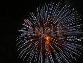 緑・青の花火