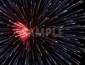 赤・青の花火