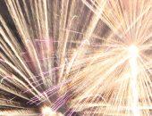 炸裂・爆発する光(花火)