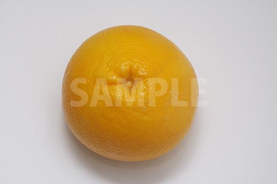 上から見たグレープフルーツの写真