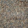 地面に敷き詰められた砂利の写真