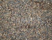 地面敷き詰められた砂利の写真