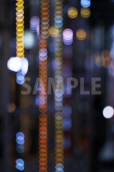 ボヤケた光の写真・フォト素材