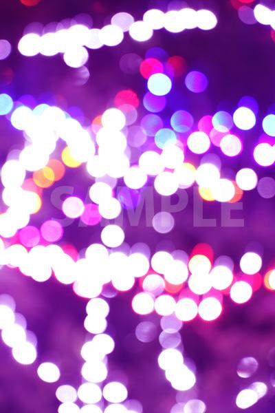 ピントずれした光が散らばるテクスチャー写真・フォト素材