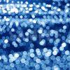 ボヤケた青い光の写真・フォト素材