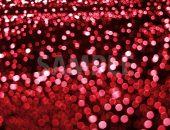ボヤケた赤色の光の写真・フォト素材