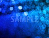 ボヤケた青色の光の写真・フォト素材