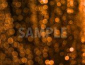 ボヤケたオレンジ色の光の写真・フォト素材