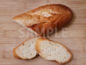 上から見たフランスパンの写真・フォト