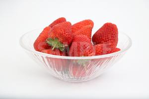 真っ赤な苺の写真・フォト素材