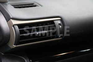車の内装・エアコン吹き出し口の写真・フォト