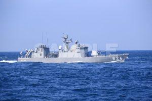 観艦式の写真「826おおたか」観艦式,護衛艦,日本,海,無料の写真