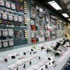 観艦式の写真「操縦室 艦名とね」