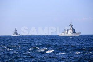 観艦式の写真「177あたご 172しまかぜ」観艦式,護衛艦,日本,海