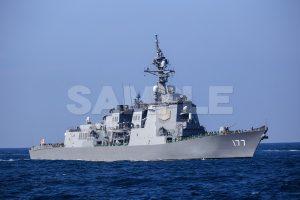 観艦式の写真「177あたご」観艦式,護衛艦,日本,海