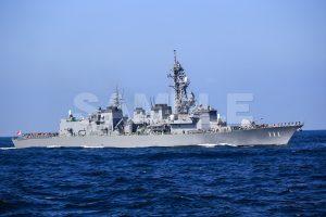 観艦式の写真「111おおなみ」観艦式,護衛艦,日本,海