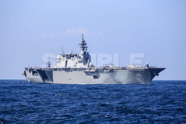 観艦式の写真「183いずも」観艦式,護衛艦,日本,海