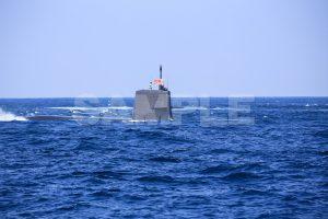 観艦式の写真「潜水艦」日本,海