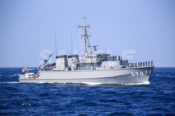 観艦式の写真「690みやじま」観艦式,護衛艦,日本,海,無料の写真