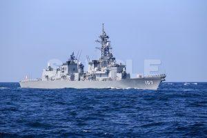 観艦式の写真「107いかづち」観艦式,護衛艦,日本,海,無料の写真