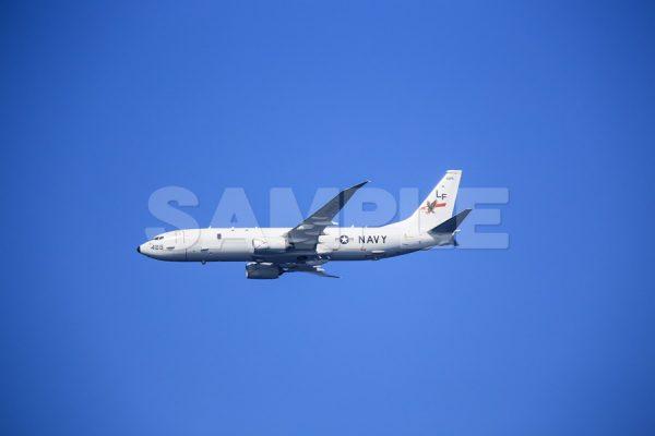 観艦式の写真「アメリカ P-8A (ポセイドン)」観艦式,飛行機,航空機,青空,無料の写真