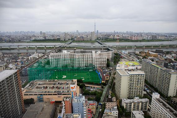 船堀 タワーホール船堀 展望台(1)からの写真・フォト