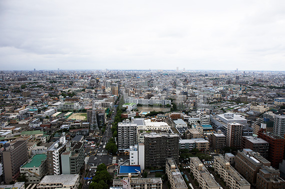 タワーホール船堀 展望台(2)からの写真・フォト