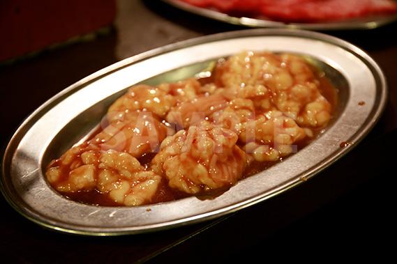 ホルモン シマチョウ(大腸)の写真・フォト素材