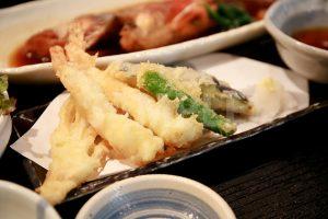 天ぷら(定食)の写真・フォト素材
