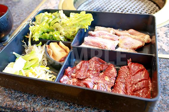 焼肉定食ランチの写真・フォト素材