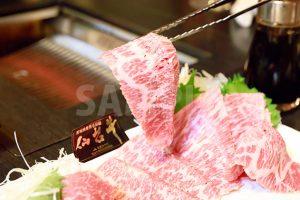 和牛ササミ(焼肉)の写真・フォト素材