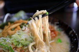 平打ち麺の写真・フォト素材