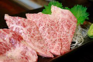 和牛サーロイン(焼肉)の写真・フォト素材