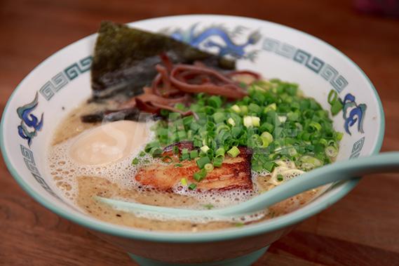 九州ラーメンの写真・フォト素材