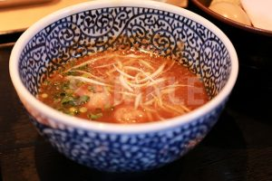 つけ麺のつけ汁の写真・フォト素材