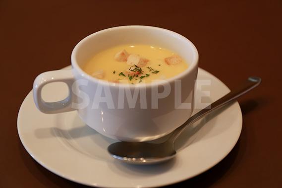 コーンスープの写真・フォト素材