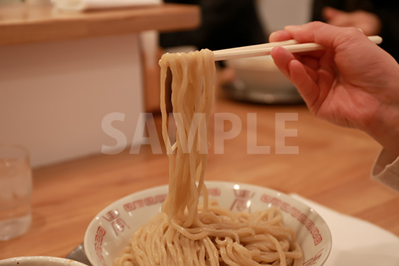 つけ麺の写真・フォト素材